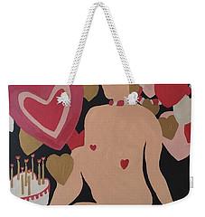 Tenth Valentine's Day Weekender Tote Bag