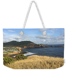 Weekender Tote Bag featuring the photograph Terceira Coastline, The Azores, Portugal by Kelly Hazel