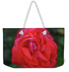 Weekender Tote Bag featuring the photograph Teresa by Mark Blauhoefer