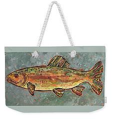 Teresa The Trout Weekender Tote Bag