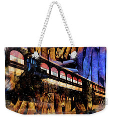 Weekender Tote Bag featuring the photograph Terminal by Richard Ricci