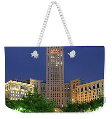 Terminal Tower Weekender Tote Bag