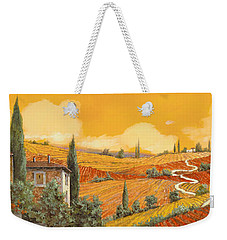 terra di Siena Weekender Tote Bag by Guido Borelli