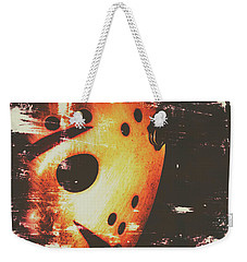 Terror On The Ice Weekender Tote Bag by Jorgo Photography - Wall Art Gallery