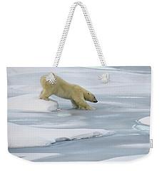 Testing The Ice Weekender Tote Bag