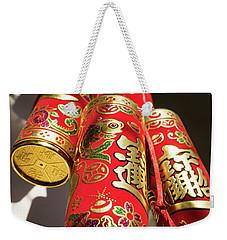 Tet Decoration Saigon Weekender Tote Bag