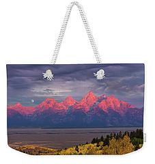 Teton Moonset Weekender Tote Bag