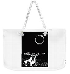 Teton Total Solar Eclipse Weekender Tote Bag