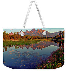 Teton Wildflowers Weekender Tote Bag by Scott Mahon