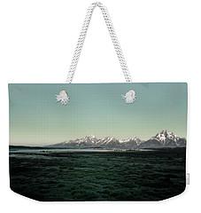 Tetons Weekender Tote Bag