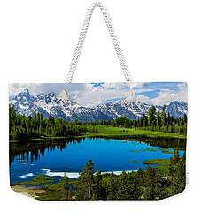 'tetons' Weekender Tote Bag