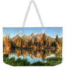 Tetons Reflection Weekender Tote Bag