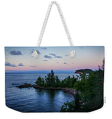 Tettegouche Sunset Weekender Tote Bag