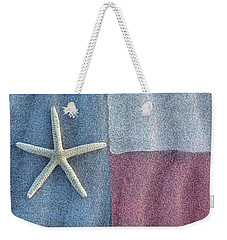 Texas Beach Flag Weekender Tote Bag