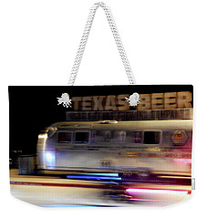 Texas Beer Fast Motorcycle #5594 Weekender Tote Bag
