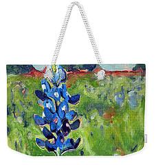 Texas Blue Bonnet Weekender Tote Bag