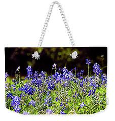 Texas Bluebonnets IIi Weekender Tote Bag by Greg Reed