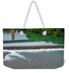 Texas Bridge Weekender Tote Bag