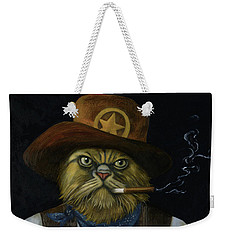 Texas Cat With An Attitude Weekender Tote Bag