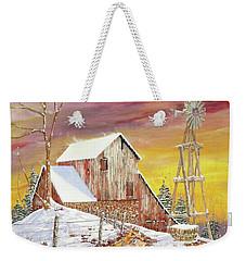 Texas Coldfront Weekender Tote Bag