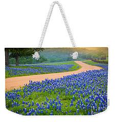 Texas Country Road Weekender Tote Bag