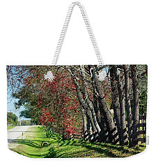 Texas Fall Weekender Tote Bag