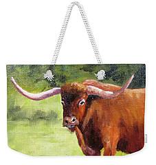 Texas Londhorn Weekender Tote Bag