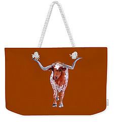 Texas Longhorn Branded  Weekender Tote Bag