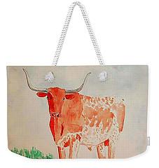 Texas Longhorn Weekender Tote Bag by Fred Jinkins