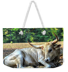 Texas Longhorn Gentle Giant Weekender Tote Bag