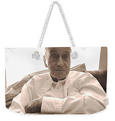 Texas Louisiana And Wwii Man Weekender Tote Bag