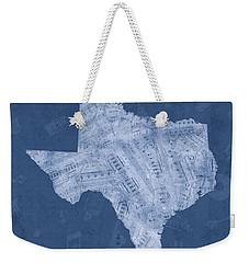 Texas Map Music Notes 5 Weekender Tote Bag