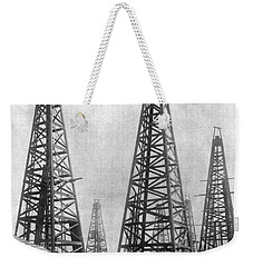 Texas: Oil Derricks, C1901 Weekender Tote Bag