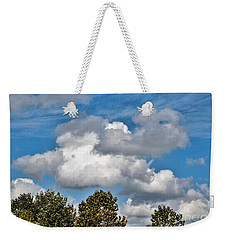 Weekender Tote Bag featuring the photograph Texas - Reach For The Sky.   by Ray Shrewsberry