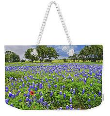 Texas Spring  Weekender Tote Bag by Lynn Bauer