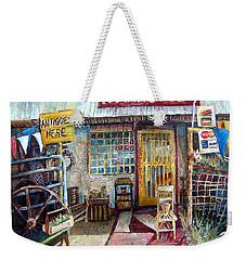 Texas Store Front Weekender Tote Bag