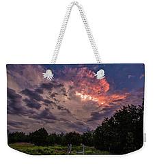 Texas Sunset Weekender Tote Bag
