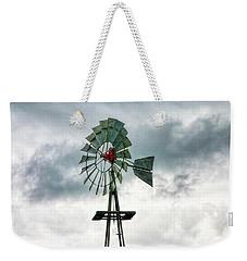 Texas Windmill Weekender Tote Bag