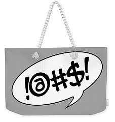 Text Bubble Weekender Tote Bag