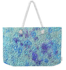 Textile ...bloom Weekender Tote Bag by Tom Druin