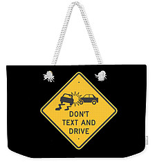 Texting T-shirt Weekender Tote Bag