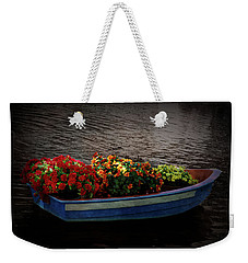 Weekender Tote Bag featuring the photograph Texture Drama Boat Parade by Aimee L Maher Photography and Art Visit ALMGallerydotcom