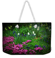 Weekender Tote Bag featuring the photograph Texture Drama Garden Escape by Aimee L Maher Photography and Art Visit ALMGallerydotcom
