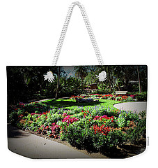 Weekender Tote Bag featuring the photograph Texture Drama Garden Park by Aimee L Maher Photography and Art Visit ALMGallerydotcom