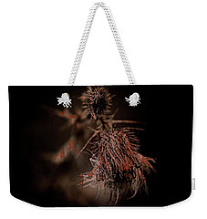 Texture Flowers Weekender Tote Bag by Andre Faubert