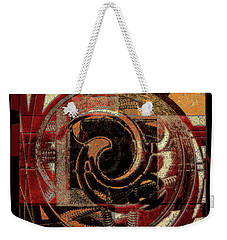 Textured Abstract Weekender Tote Bag