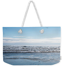 Textured Blues Weekender Tote Bag