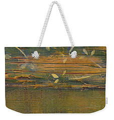 Textured Close Up Weekender Tote Bag by Patricia Cleasby