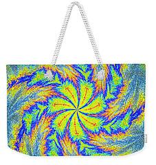 Textured Colors Weekender Tote Bag