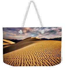 Textured Dunes  Weekender Tote Bag by Nicki Frates